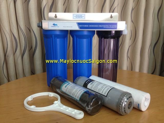 Bộ lọc nước sinh hoạt 3 cấp Taiwan