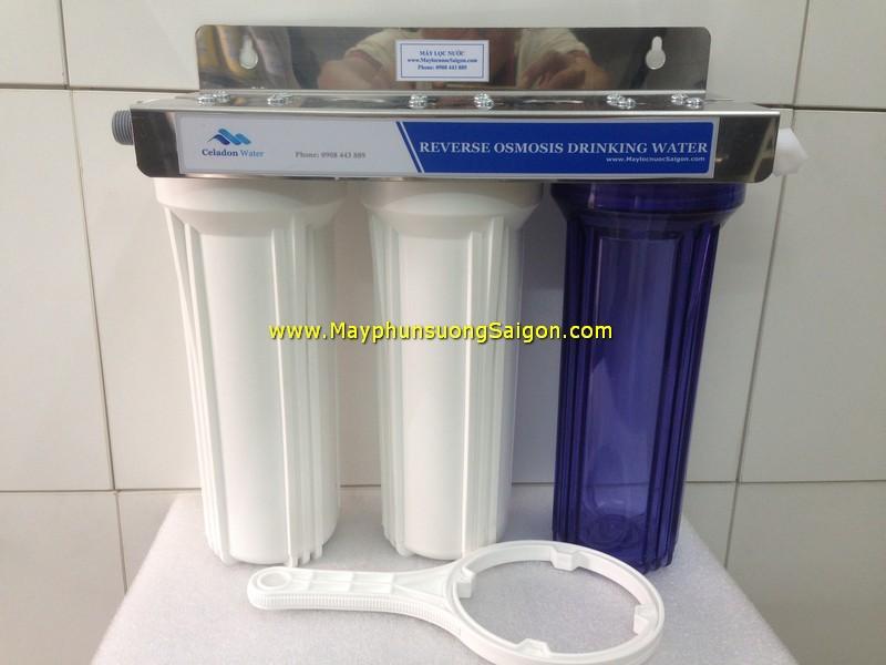 Bộ lọc nước 3 cấp 10 inch