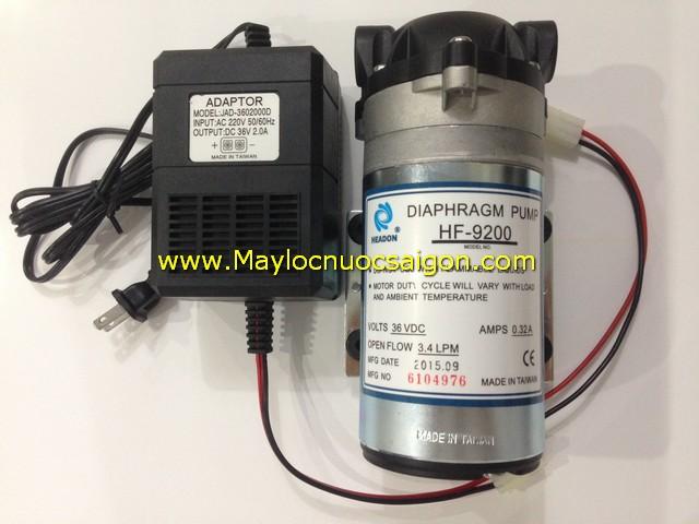 Bơm 36V HF-9200 (Máy bơm + Adaptor)